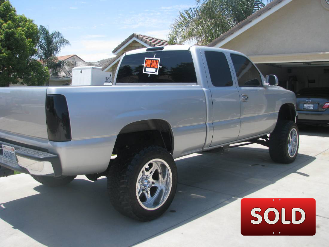 2001 Lifted Chevy Silverado 1/2 ton - SOLD! | SoCal Trucks