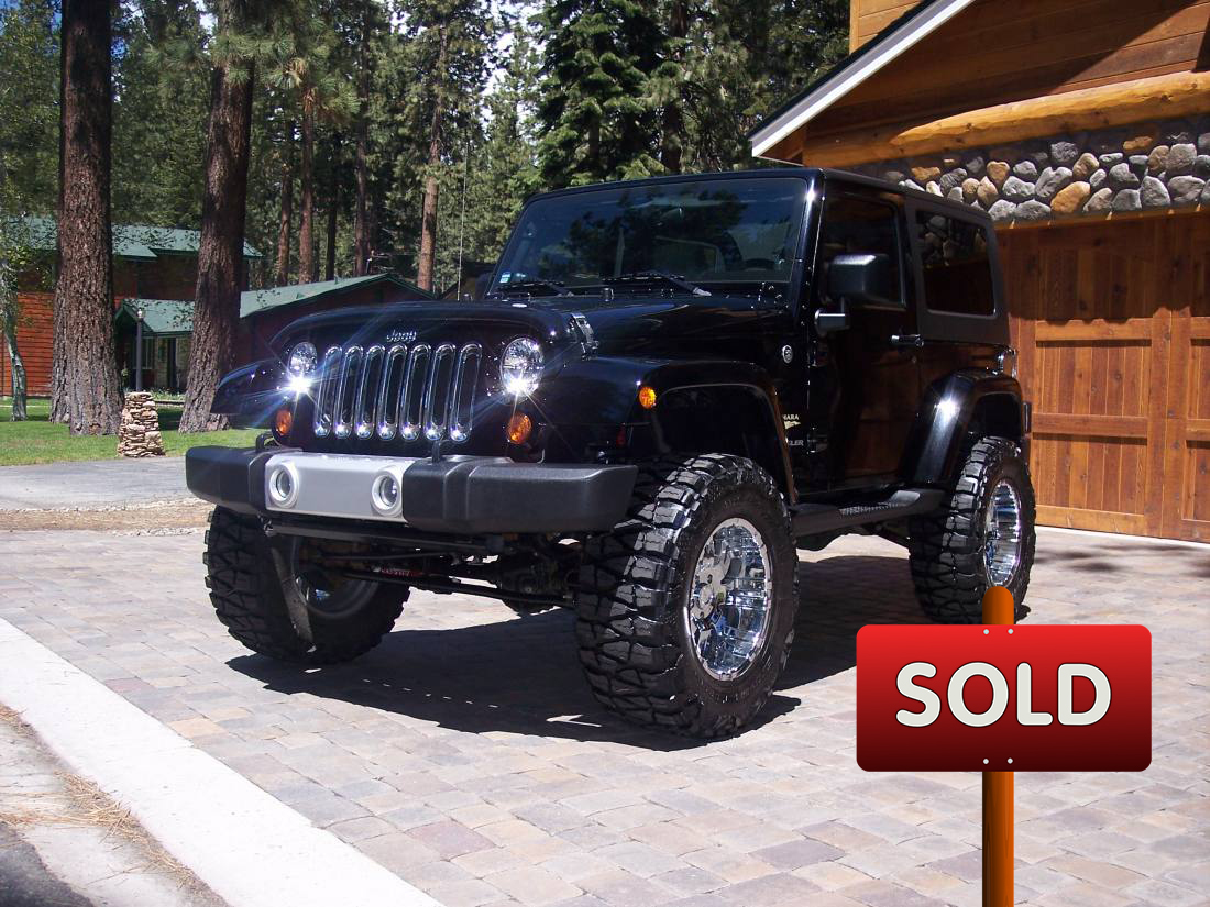 2008 Custom Jeep Sahara Wrangler Sold Socal Trucks