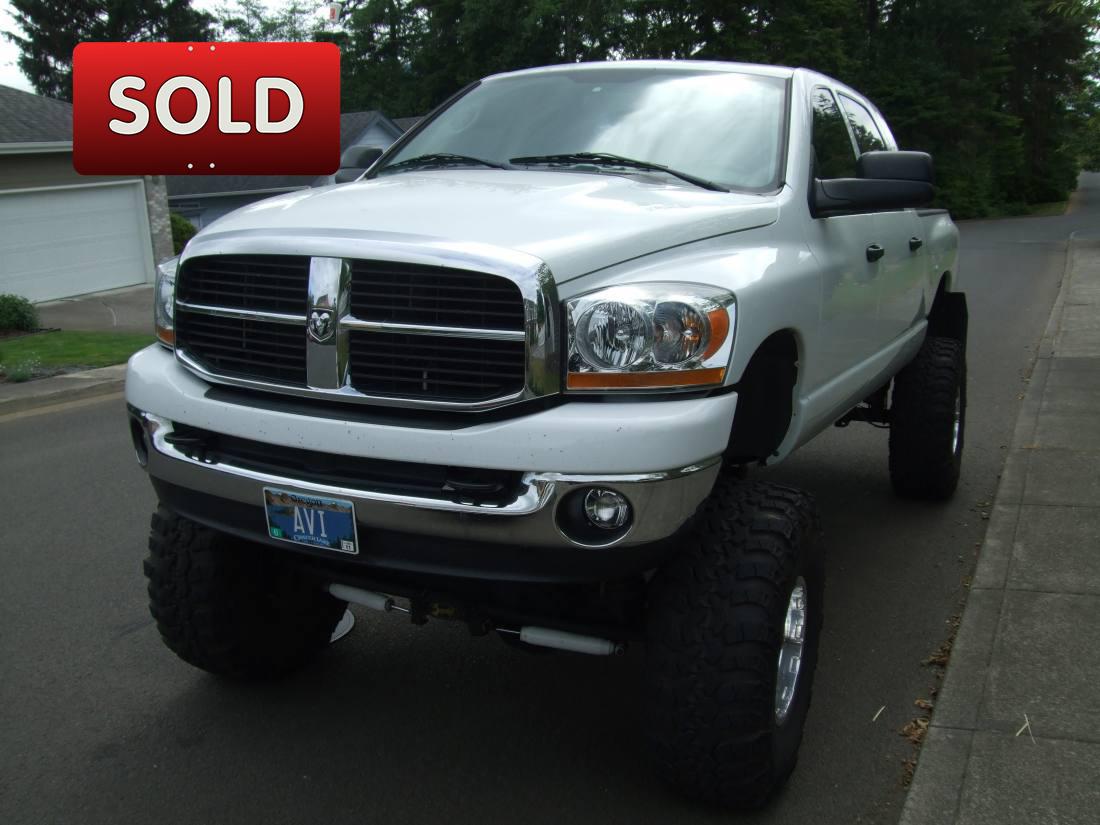 Dodge Trucks For Sale By Owner >> 2006 Dodge Ram Megacab 2500 Sold Socal Trucks