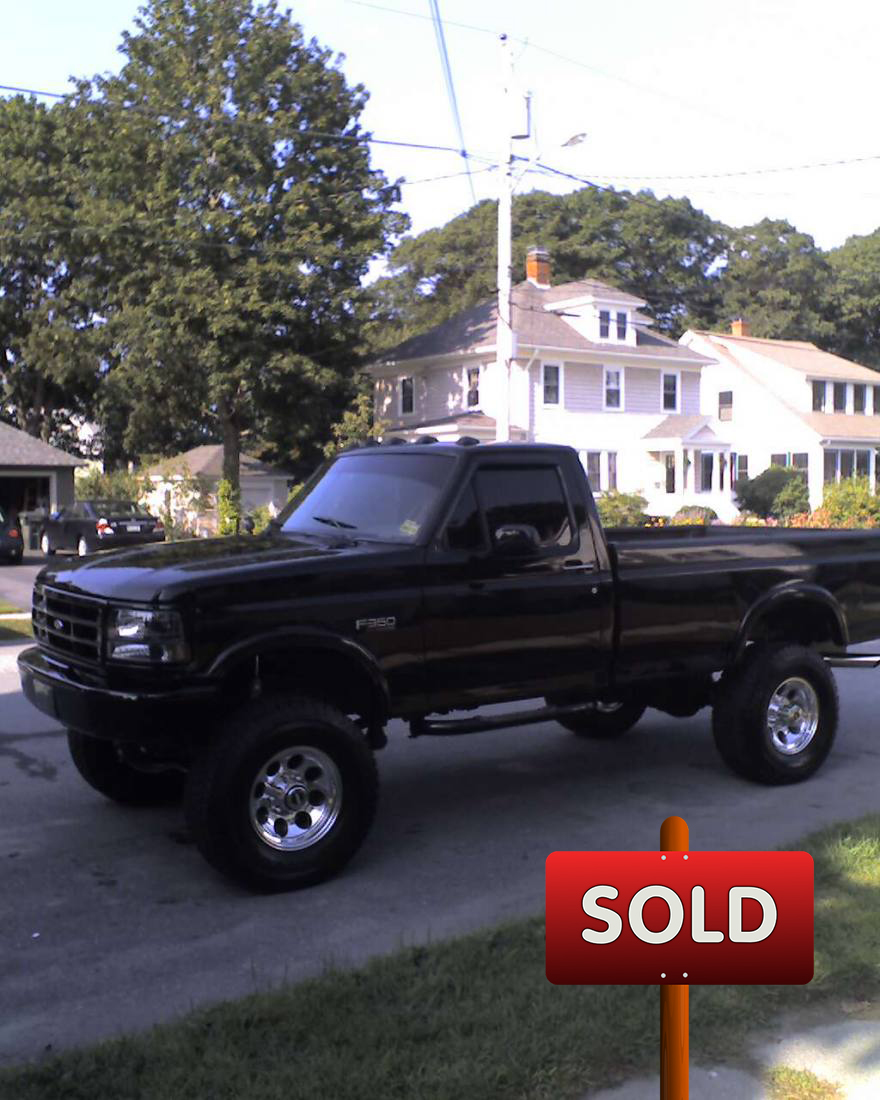 1995 Ford F350 (4x4 XLT) - SOLD!