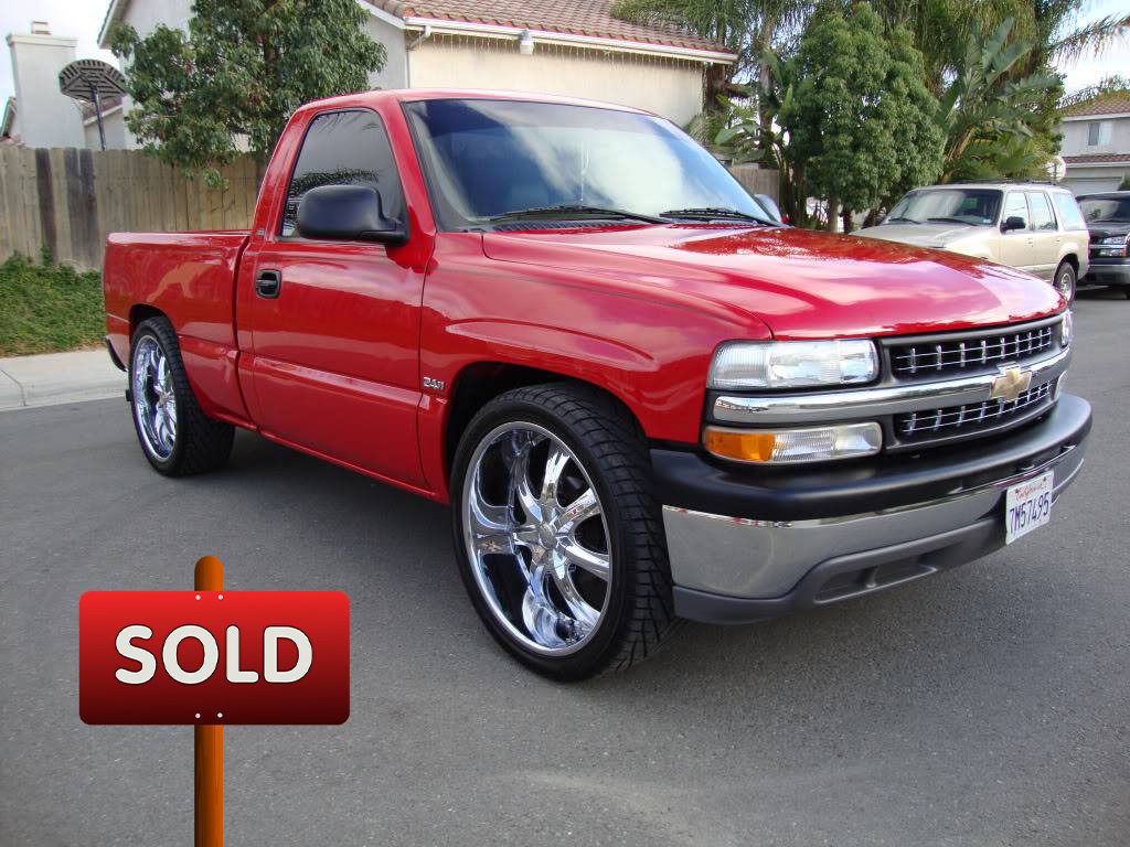 "2000 Chevy Silverado 1500 on 24"" Rims - SOLD! 