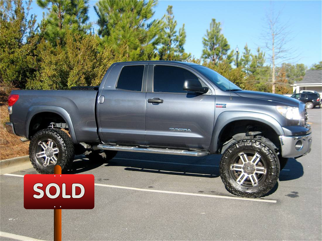 2009 toyota tundra sold socal trucks. Black Bedroom Furniture Sets. Home Design Ideas