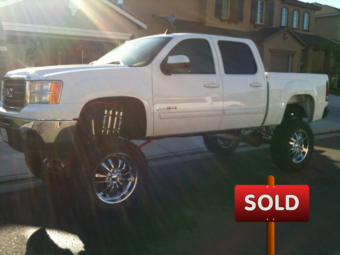 2007 gmc sierra vortec max sold socal trucks. Black Bedroom Furniture Sets. Home Design Ideas