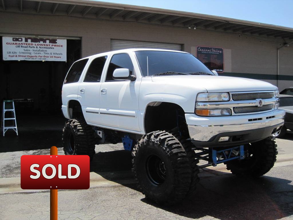 2001 Chevy Tahoe Sold