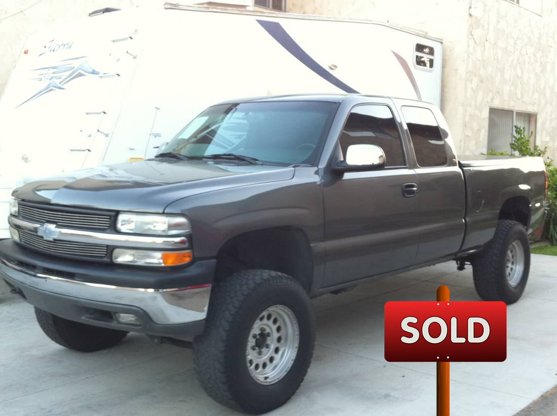 2000 chevrolet silverado lt ext cab z71 4wd sold socal trucks. Black Bedroom Furniture Sets. Home Design Ideas