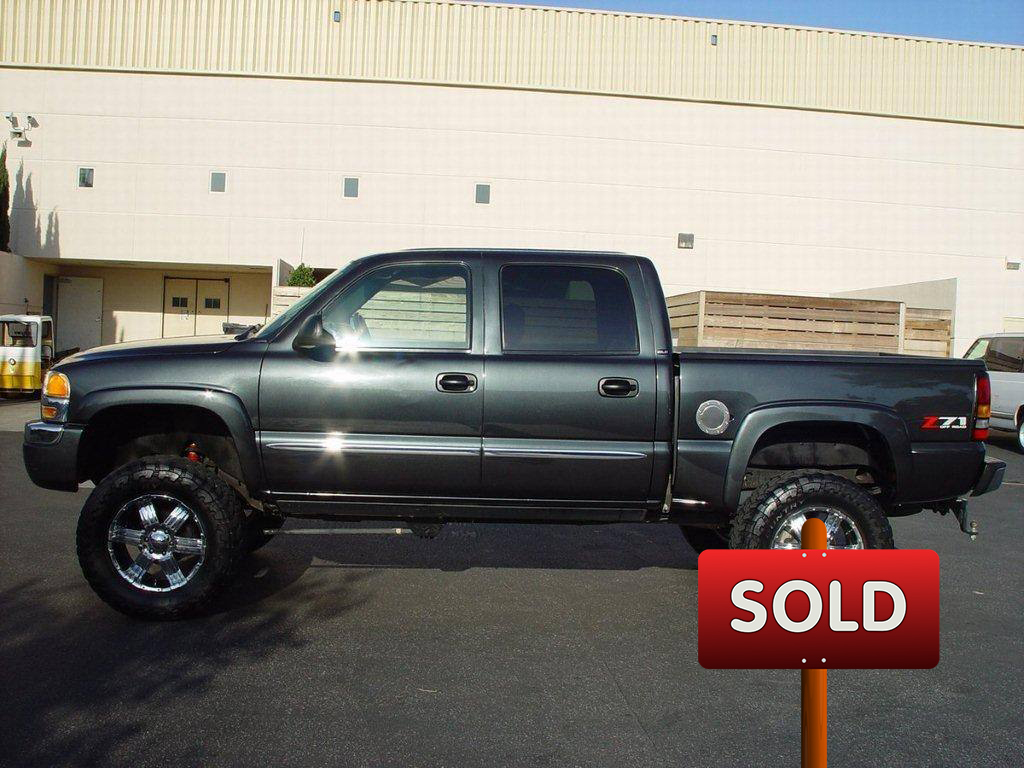 Ram 1500 Exhaust >> 2004 GMC SIERRA 1500 CREW CAB - SOLD! | SoCal Trucks