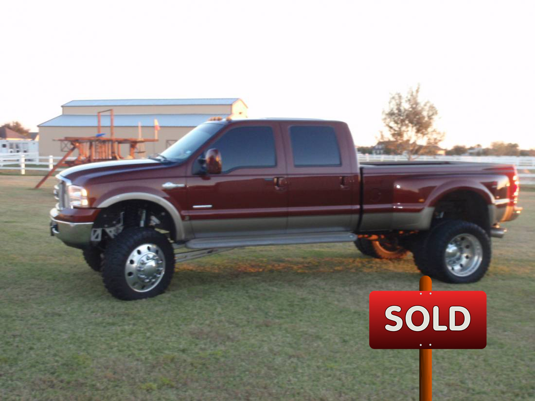 2006 ford f350 king ranch sold socal trucks. Black Bedroom Furniture Sets. Home Design Ideas