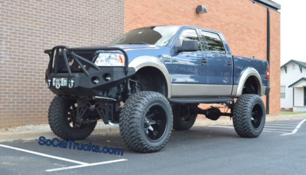 custom ford  lariat  sale socal trucks