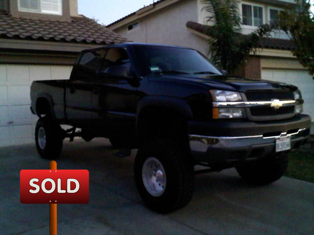 2003 chevy silverado 2500hd ls crew cab sold socal trucks. Black Bedroom Furniture Sets. Home Design Ideas
