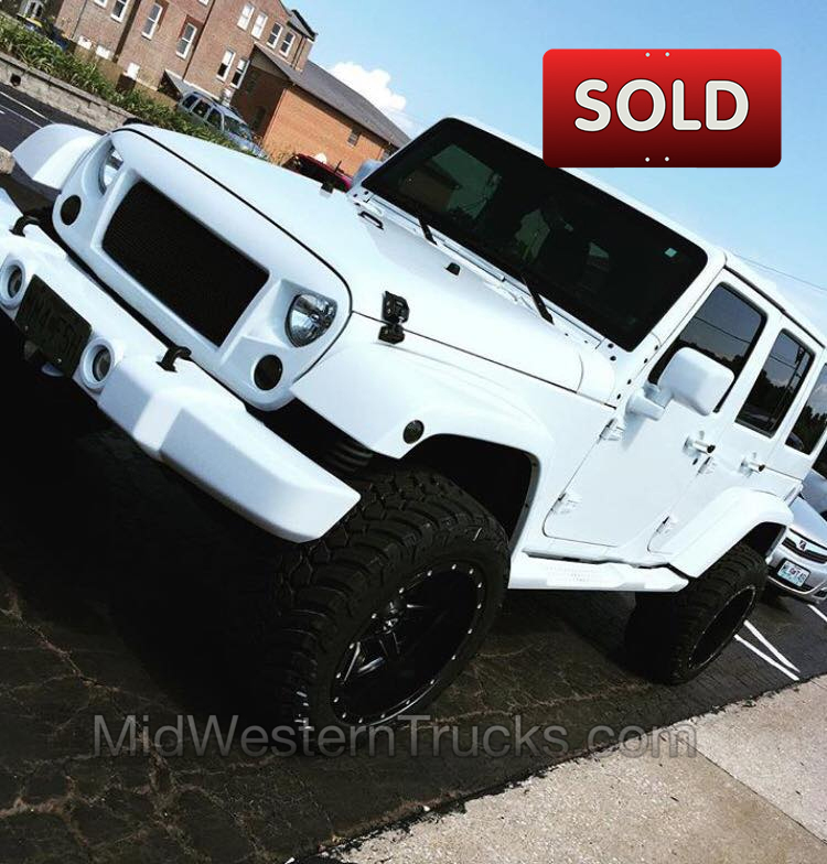 Whiteout Jeep
