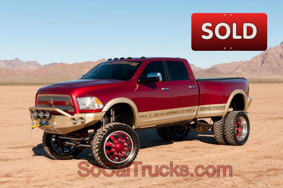 Custom Lifted Truck