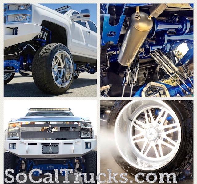 Chevy custom truck