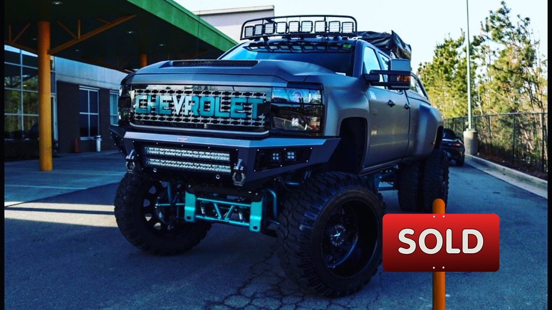 2018 Chevy truck