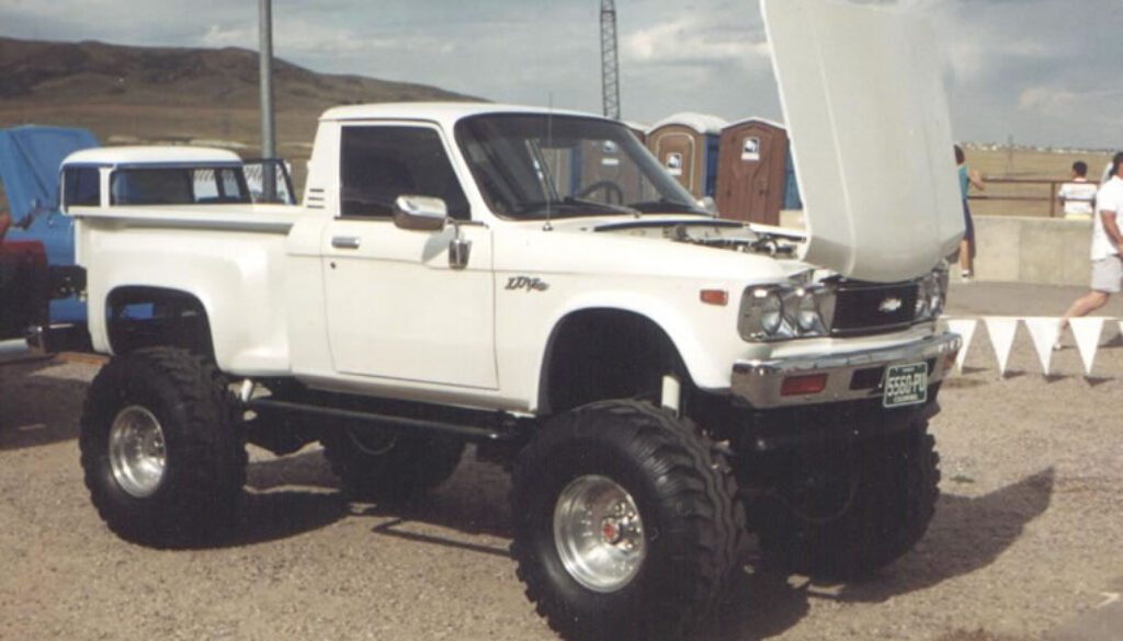 Lifted Chevy Luv