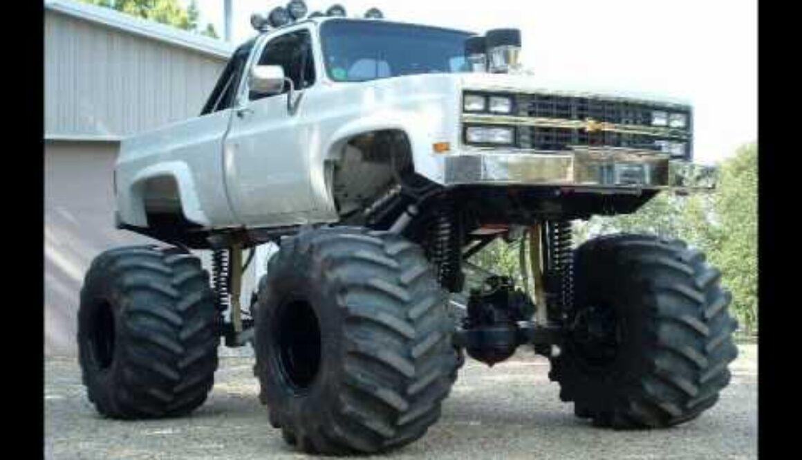 mud digger truck