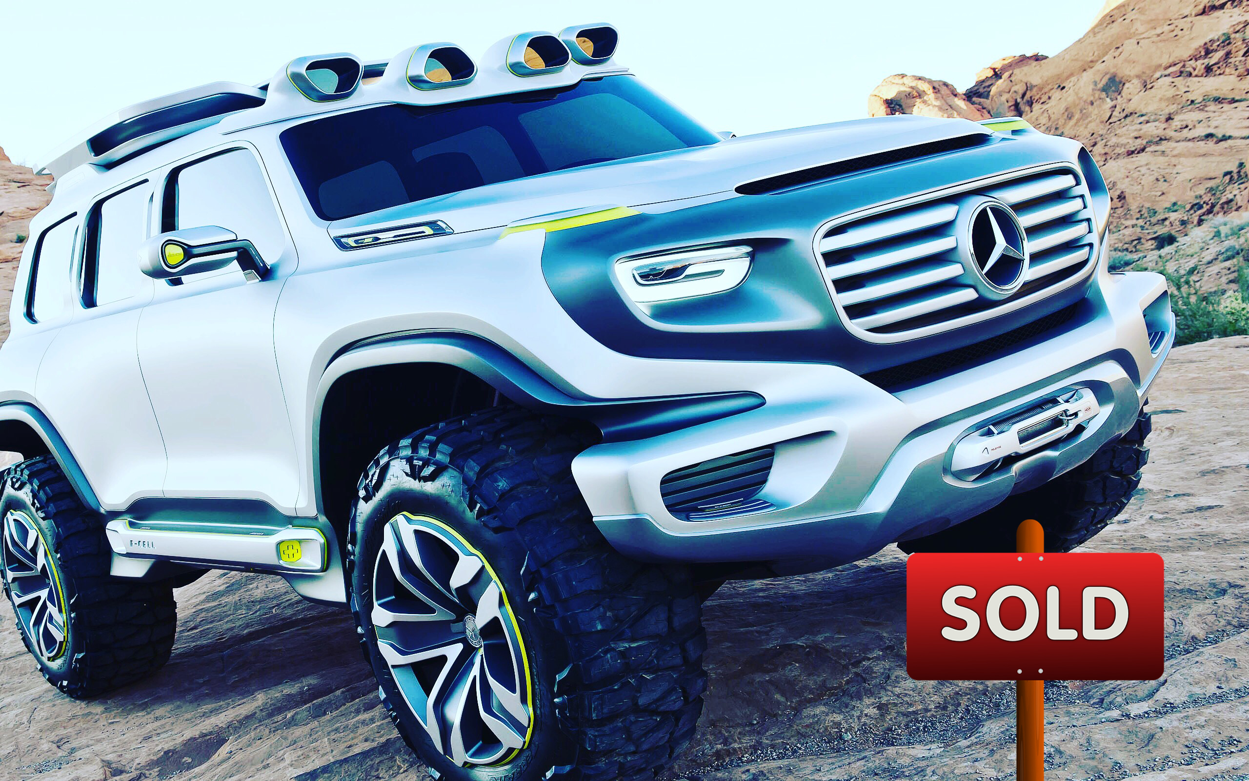 Custom Mercedes Benz SUV