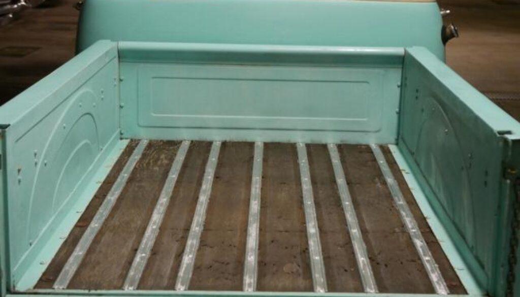 Wooden Bed Vintage Truck