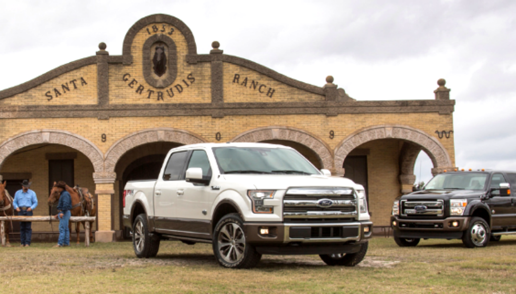 Fords at the King Ranch