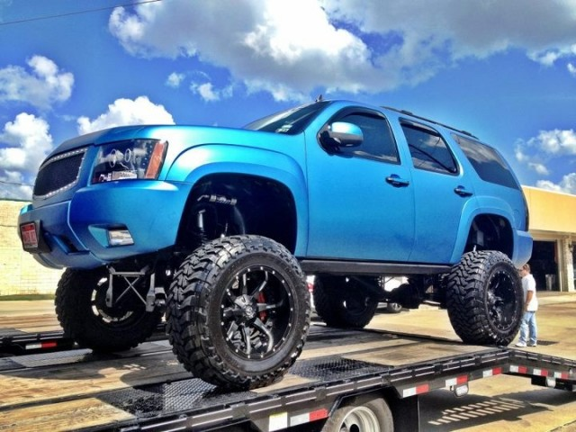 2008 lifted chevy tahoe 4x4 katy texas sold show ad socal trucks socal trucks